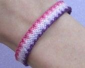 Custom Zigzag Ombre Friendship Bracelet