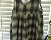 Vintage 1990's Plaid Dress
