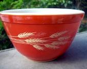 Pyrex Mixing Bowl Autumn Harvest Wheat 750 ml.