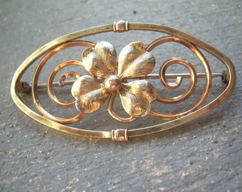 4 Leaf Clover Pin by Diana