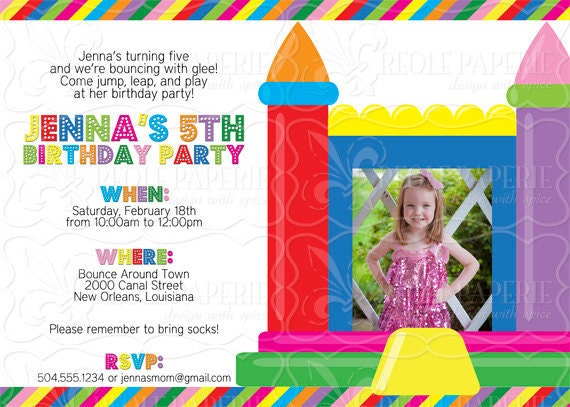 ilxn., Birthday invitations