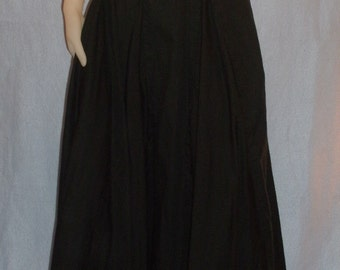 Full Ankle Length Skirt with Godets to add the flare
