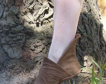 Soft Renaissance Shoe---Pointed Toe---Made To Order---Unisex
