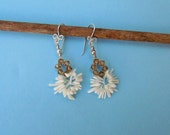 Clearance White Coral Earring