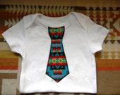 Native American Baby Boy Tie Onesies
