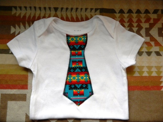 Items Similar To Native American Baby Boy Tie Onesies On Etsy