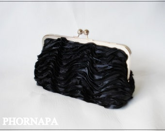 LBC (little black clutch) Collection/8 inch frame  Made to Order