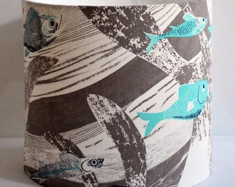 Deep Sea Drum Lampshade