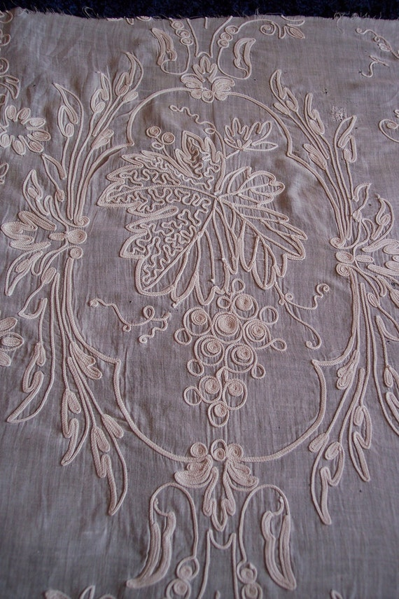 Arts And Crafts Embroidered Curtains
