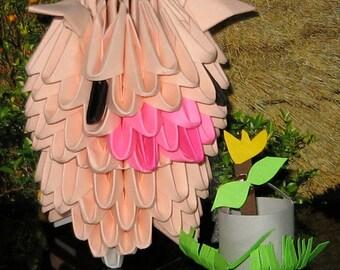 3d Origami Pig Kit
