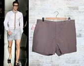 Vintage 50's Mens Tailored Shorts