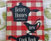 RESERVED 1953 Better Homes and Gardens New Cookbook, Great Condition