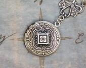 Charming Silver Locket