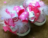 1 Set of Shoe Clip Bows ONLY