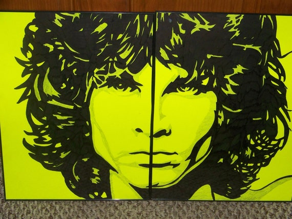 Wonka S Magic Marker Art Jim Morrison Of The Doors By Mczerw