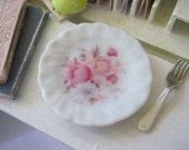 Pomeroy Rose Dollhouse Plate