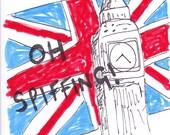 Oh Spiffing British comedy art humour zine