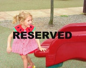 Reserved for Jaycee