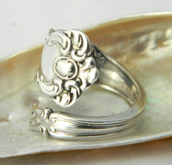 Silver Spoon Ring  - Oxford 1901 - Petite Spoon Ring
