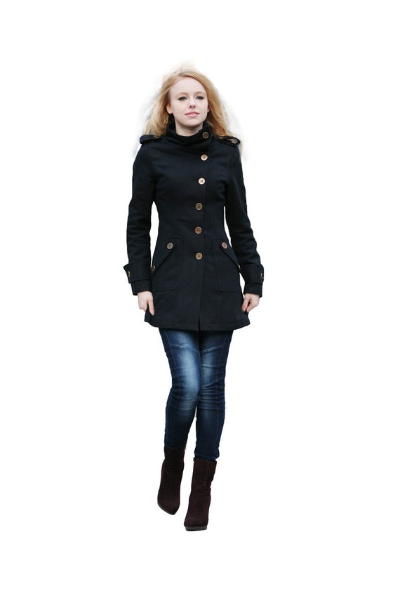 black winter coat women - photo #11