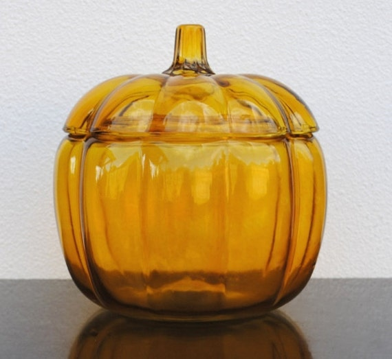 Thanksgiving Pumpkin Cookie Jar Anchor By Vintageeclecticity
