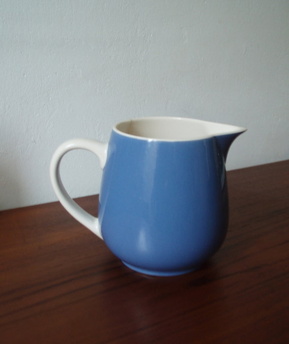 Villeroy & Boch - Vintage - Blue Ceramic Milk-Pot  - 1950ies - Made in Mettlach Saar