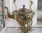 REDUCED Antique Tea Pot with Warmer