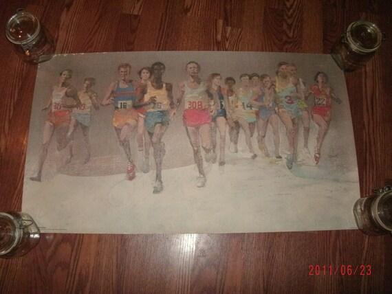 "Vintage Rare ""Running Naturally"" Original Poster"