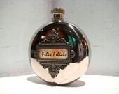 Felix Felicis Flask, Harry Potter Inspired Round 5 oz Flask