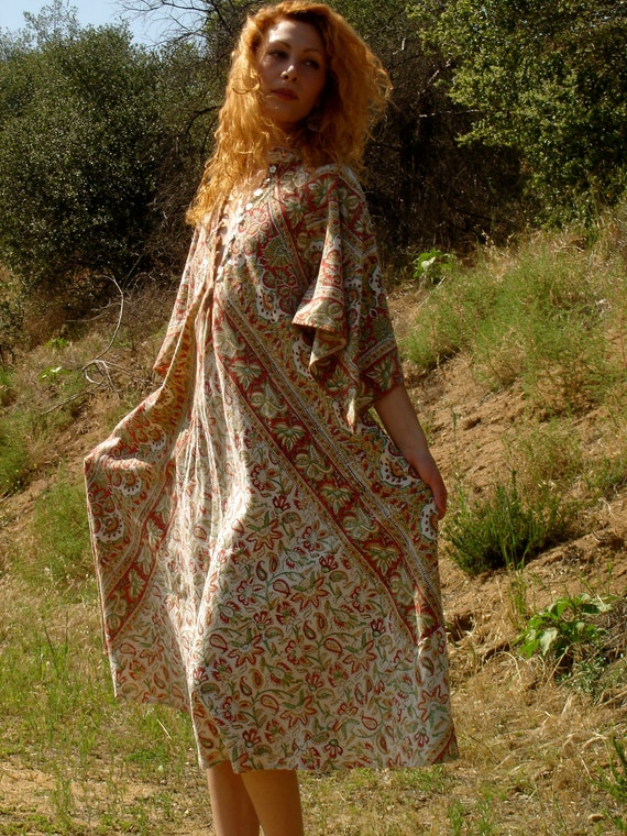 Bohemian Dreaming One of a Kind Indian Maxi Dress
