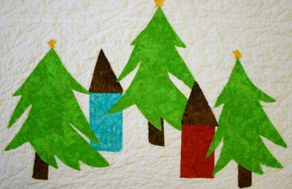 California Christmas Quilt