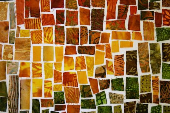 Into The LIght Fabric Mosaic