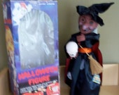 Vintage 1980's Halloween Animated Witch with