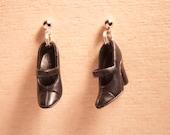 Black Forest Pie - Barbie Shoe Earrings