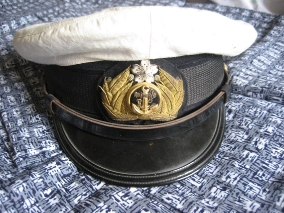 Imperial Japanese Navy Officer's Uniform Cap
