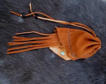 Ontenmokottsih Pehe Teheya ( Brown Leather Bag )