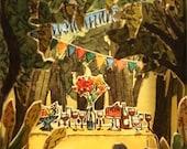 Cajita fiesta en el bosque / Small box party in the woods