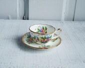 Vintage Miniature Napco Tea Cup and Saucer