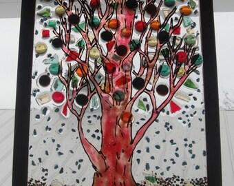 Tree  stain glass Art Specialized Window art