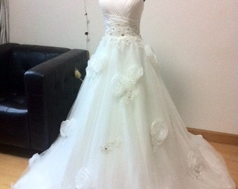 Sweetheart Rose Wedding Dress