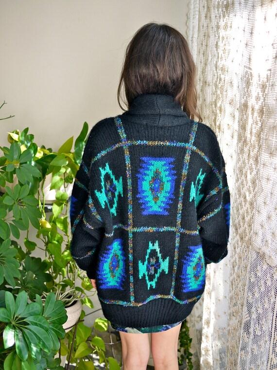 90s Southwest Sweater Jacket