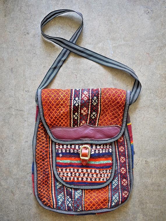 Vintage Turkish Killim Unisex Bag