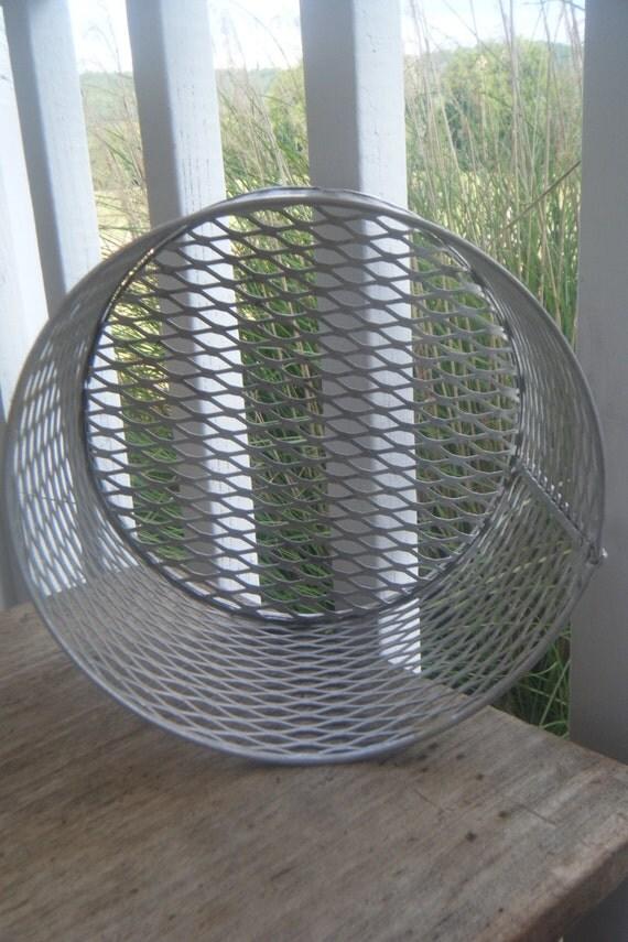 Round Industrial Metal Basket
