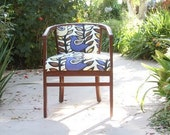 Upcycled Bluebird Chair