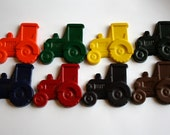 Farm Tractor Crayons - Set of 8 - Great for a John Deere Party