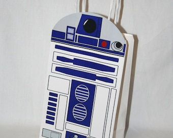 R2-D2 Party Bag - PRINTABLE ARTWORK