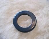 Vintage Navy Blue Plastic Circle