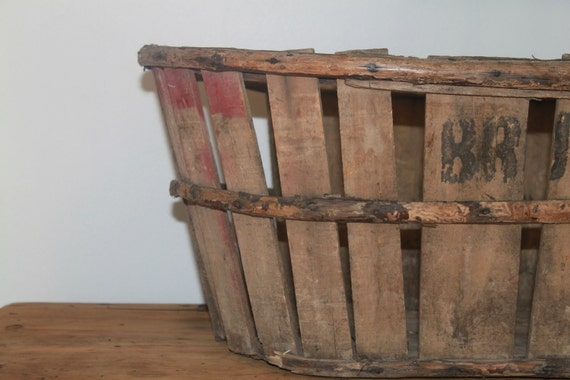 Old French Fruit Basket - Free shipping in USA