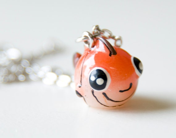 Clownfish Necklace 25% of sale will be donated to Sea Shepherd Conservation Society