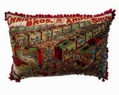 Victoriana Circus Cushion 'Animals'